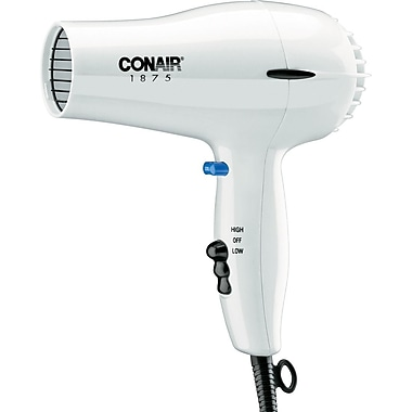Conair® 1875 Watt Hair Dryer, White
