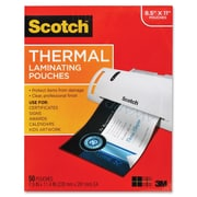 3M™ Scotch® 3 mil Thermal Laminating Pouches, Letter Size, 50/Pack (TP3854-50)