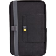 "Case Logic CQUE-3108BLACK Polyester Folio Case for 8"" Universal Tablet, Black"
