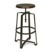 OFM™ Endure Series Solid Wood Industrial Grade Tall Stool, Walnut