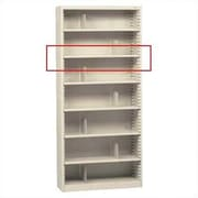 Tennsco Extra Deep Shelf for KD Units; Medium Grey