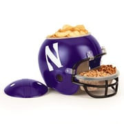 Wincraft NCAA Snack Helmet Chip & Dip Tray; Northwestern
