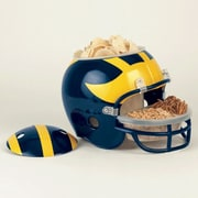 Wincraft NCAA Snack Helmet Chip & Dip Tray; Michigan