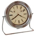 Wilco Metal Table Clock