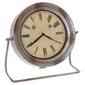 Wilco Metal Table Clock