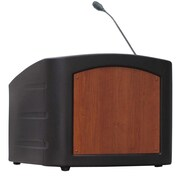 Summit Lecterns Integrator Tabletop Lectern; Black