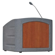Summit Lecterns Integrator Tabletop Lectern; Gray