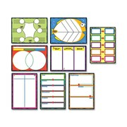 CARSON-DELLOSA PUBLISHING Graphic Organizer Bulletin Board Cut Out Set