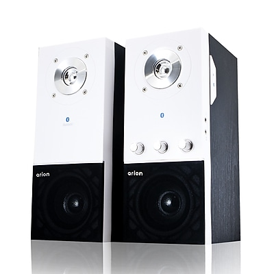 Eagle Tech Arion Bluetooth Speakers with Wall Mount Brackets