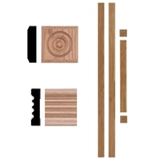 Manor House 3/4 in. x 3 in. x 7 ft. Oak Door Trim Casing Set Moulding