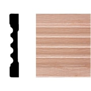 Manor House 7/16 in. x 3 in. x 7 ft. Oak Fluted Casing Moulding