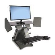 Health Postures TaskMate Executive Sit Stand Desk