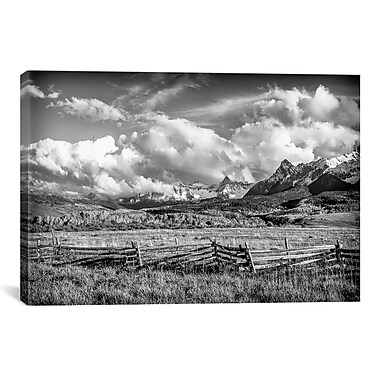 iCanvas 'Colorado Fields' by Dan Ballard Photographic Print on Canvas; 8'' H x 12'' W x 0.75'' D