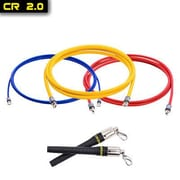 Crossrope Double Under Domination Jump Rope Set 2.0; M-8'6'' (User height of 5 3 -5 9 )