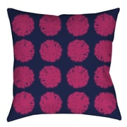 Thumbprintz Pod Dots Printed Polyester Throw Pillow; 16'' H x 16'' W x 4'' D