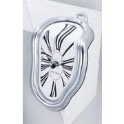 New Haven Shelf Sitter Clock in Silver