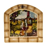 Certified International Tuscan View Arched Platter