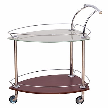 CREATIVE FURNITURE Element Bar Cart; Cherry