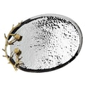 Godinger Silver Art Co Arboria Oval Serving Tray