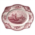 Johnson Brothers Old Britain Castles Pink Oval Platter