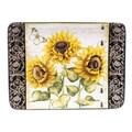 Certified International French Sunflowers 16'' Rectangular Platter