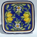 Le Souk Ceramique Citronique Design 11.5'' Square Platter