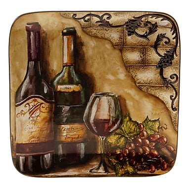 Certified International Tuscan View Square Platter