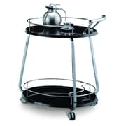 CREATIVE FURNITURE Miso Meal Serving Cart; Black