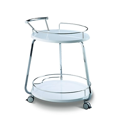 CREATIVE FURNITURE Miso Meal Bar Cart; White