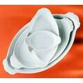 Pillivuyt Eared Oval Platter; 6.25'' x 10''
