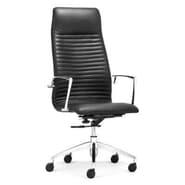 dCOR design Lion High Back Office Chair; Black
