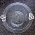 Thirstystone Daisy Glass Round Serving Bowl