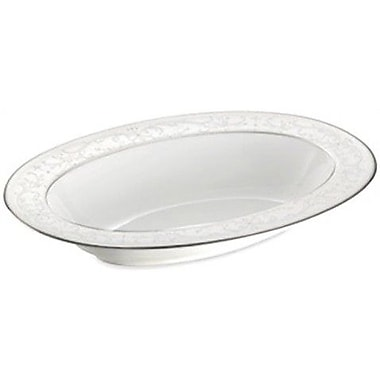 Nikko Ceramics Symphony Vegetable Bowl; Pearl