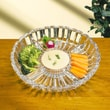 Crystal Clear Alexandria Serving Dish