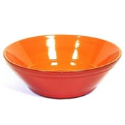Piral Terracotta 9.5'' V-Shaped Salad Bowl; Red