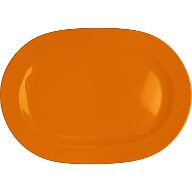 Waechtersbach Fun Factory Oval Serving Platter (Set of 2); Orange