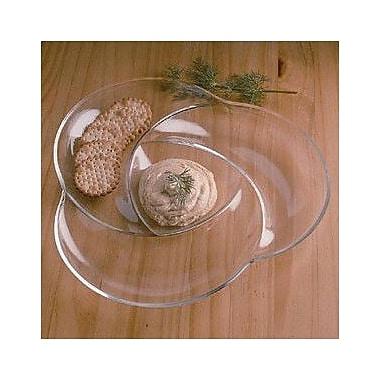 William Bounds Grainware Necessities Swirl Divided Serving Dish; 11.5''