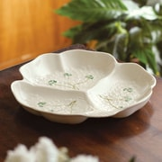 Belleek Fortunes Party Chip and Dip Tray