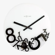 Nextime 17'' Dropped Wall Clock