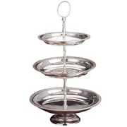 Godinger Silver Art Co 3 Tiered Stand