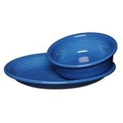 Fiesta 2 Piece Companion Vegetable Bowl Set; Lapis