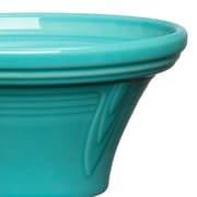 Fiesta Hostess Serving Bowl; Turquoise