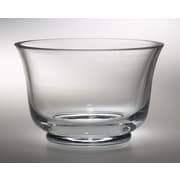 Majestic Crystal Classic High Quality Glass Thick Revere Serving Bowl