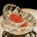 William Bounds Grainware 3 Piece Compliments Heart Nesting Candy Bowl