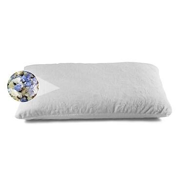 Brooklyn Bedding Ultimate Dreams Shredded Combo Latex and Gel Memory Foam Pillow; King