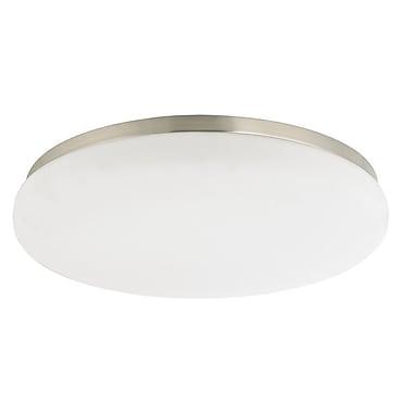 Dolan Designs Recesso Terrenoc 12'' Glass Recessed Light Shade; Satin Nickel