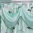 Popular Bath Products Avanti Polyester Shower Curtain; Aqua