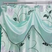 Popular Bath Products Avanti Shower Curtain; Aqua