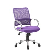 Boss Office Products Mesh Back Task Chair; Purple