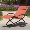 RST Outdoor Original Orbital Zero Gravity Chaise Lounger; Orange